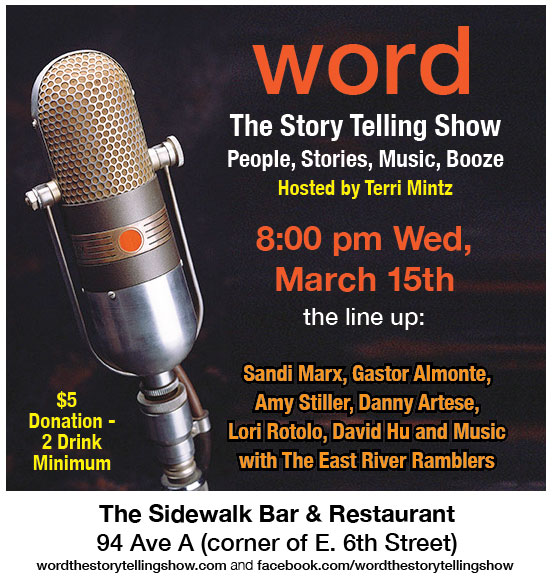 New March Word Flyer